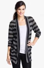 Long striped cardigan from Nordstrom at Nordstrom