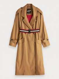 Longline Trench Coat at Scotch and Soda