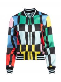 Lonnie Reversible Bomber Jacket by Alice + Olivia at Alice + Olivia