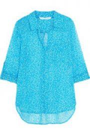 Lorelei Two printed silk-chiffon blouse at The Outnet
