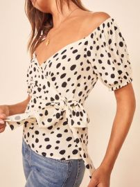 Lores Top at Reformation