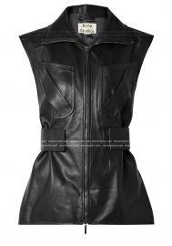 Lorique leather vest by Acne Studios at Net A Porter