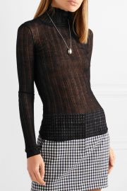 Lory ribbed wool-blend turtleneck sweater at Net A Porter
