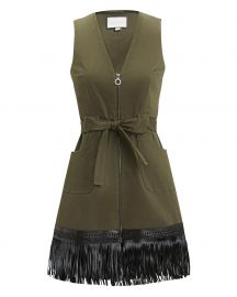Lottie Fringe Hem Dress by Alexis at Neiman Marcus