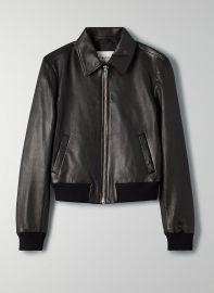 Lou Leather Jacket at Aritzia