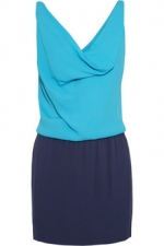Lou two tone dress by Diane Von Furstenberg at The Outnet