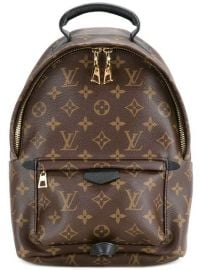 Louis Vuitton Pre-Owned Palm Springs MM Backpack - Farfetch at Farfetch