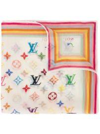 Louis Vuitton pre-owned monogram handkerchief scarf pre-owned monogram handkerchief scarf at Farfetch