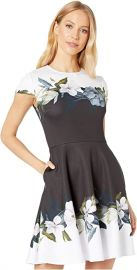 Louva Opal Print Dress by Ted Baker at Zappos
