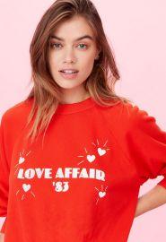 Love Affair Sweatshirt at Singer 22