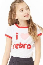Love Retro Tee by Forever 21 at Forever 21
