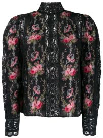 Love Shack Fancy Jacque Flower Embroidery Top - Farfetch at Farfetch