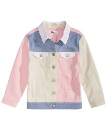 Loved Colorblocked Cotton Denim Jacket at Macys