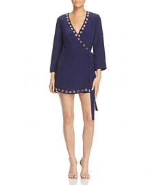 Lovers and Friends Blue Crush Wrap Dress at Bloomingdales