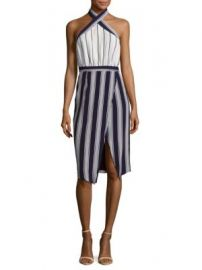 Lovers   Friends - Noemi Striped Halter Dress at Saks Off 5th
