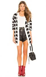 Lovers   Friends Basset Cardigan in Black  amp  White from Revolve com at Revolve