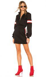 Lovers   Friends Becker Zip Up Mini Dress in Black from Revolve com at Revolve