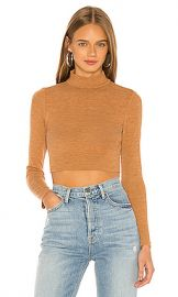 Lovers   Friends Cameron Sweater in Camel from Revolve com at Revolve