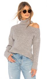 Lovers   Friends Del Mar Sweater in Heather Grey from Revolve com at Revolve