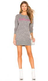 Lovers   Friends For Lovers Sweater Dress in Heather Grey  amp  Pink from Revolve com at Revolve
