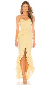 Lovers   Friends Melissa Gown in Cream Yellow from Revolve com at Revolve