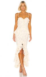 Lovers   Friends Melissa Gown in Nude from Revolve com at Revolve