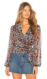 Lovers   Friends Mikayla Blouse in Hermosa Floral from Revolve com at Revolve