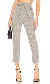 Lovers   Friends Miro Pants in Black Plaid from Revolve com at Revolve