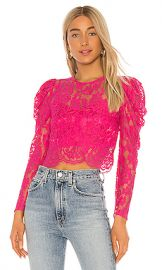 Lovers   Friends New Love Top in Fuchsia Pink from Revolve com at Revolve