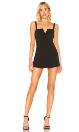 Lovers   Friends Paola Romper in Black from Revolve com at Revolve