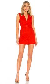 Lovers   Friends Raven Mini Blazer in Red Hot from Revolve com at Revolve