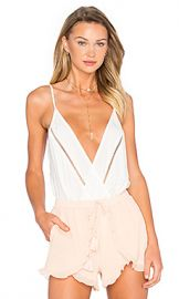 Lovers   Friends Vision Cami Bodysuit in Ivory from Revolve com at Revolve