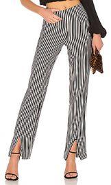 Lovers   Friends X REVOLVE Arya Pant in Black  amp  White Stripe from Revolve com at Revolve