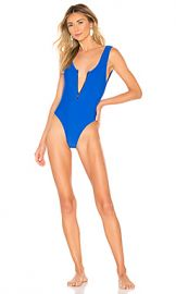 Lovers   Friends Zipped Up One Piece in Royal Blue from Revolve com at Revolve