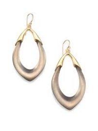 Lucite Orbit Link Drop Earrings at Alexis Bittar