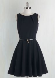 Luck Be a Lady Dress in Black at ModCloth