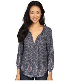 Lucky Brand Paisley Print Blouse at 6pm at 6pm