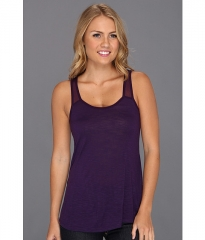Lucky Brand Angeli Drapey Tank Blackberry Cordial at 6pm