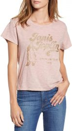 Lucky Brand Cotton Janis Joplin Graphic T-Shirt at Amazon