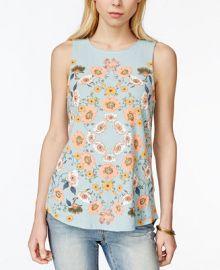 Lucky Brand Floral-Print Tank Top at Macys