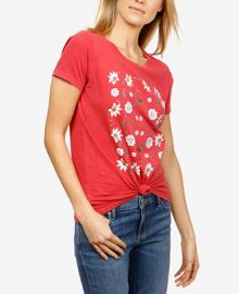 Lucky Brand Floral T-Shirt   Reviews - Home - Macy s at Macys