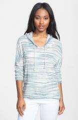 Lucky Brand Malibu Stripe Hoodie at Nordstrom