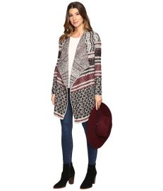 Lucky Brand Mixed Striped Cardigan at 6pm