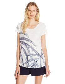 Lucky Brand Palm Fronds Tee at Amazon