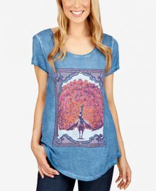 Lucky Brand Peacock Graphic T-Shirt at Macys
