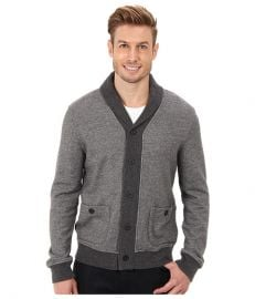 Lucky Brand Shawl Collar Cardigan Charcoal at 6pm