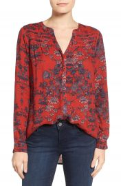 Lucky Brand Vintage Print Top at Nordstrom