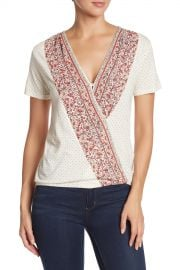 Lucky Brand Wildflower Surplice Top at Nordstrom Rack