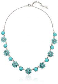 Lucky Brand Womens Turquoise Collar Necklace III at Amazon