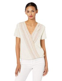 Lucky Brand Wrap Top at Amazon
